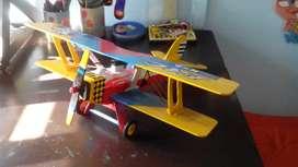 Aviones biplanos de madera