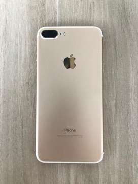 iPhone 7 plus 128gb color gold