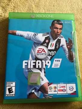 VENDO FIFA 19 PARA XBOX ONE