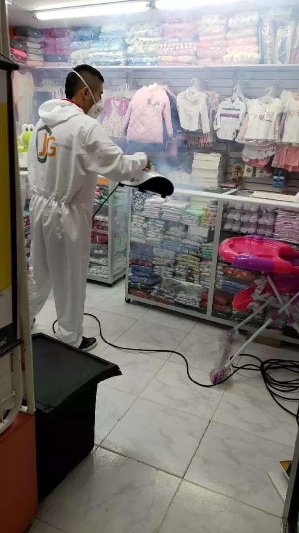 Desinfección por termonebulizacion 0