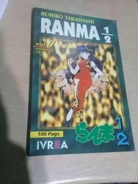Ranma 1/2 Tomo 7 Manga Cómic Ivrea Rumiko Takahashi
