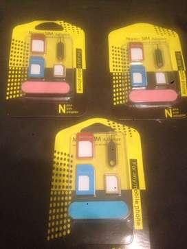 A la venta adaptador SIM para celulares