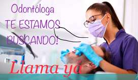 CONVOCATORIA LABORAL, aplica yá odontóloga con experiencia para vinculación INMEDIATA