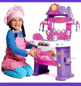 Cocina para niñas con música luces y sonido