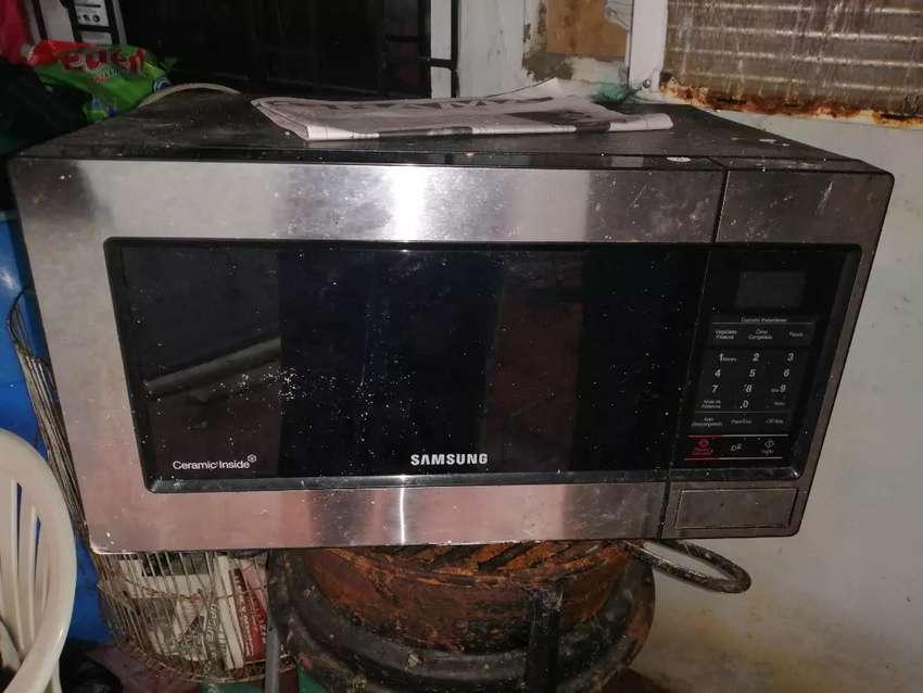 Horno Microondas Samsung Para Reparar 0