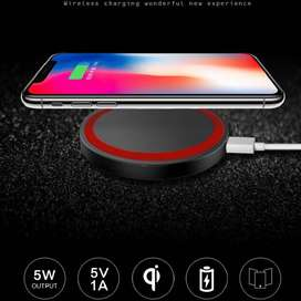 Cargador Qi Wireless For iPhone XS Max XR 8 For Samsung S8 Plus S9 Plus Note 8 Q5 Power Charger Charging Pad