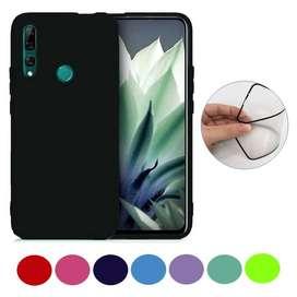 Estuche Funda Silicone Candy Huawei Y9 Prime Vidrio Cerámico Envío por Interrapidísimo GratisAndina