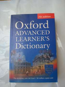 Diccionario ingles-ingles Oxford advanced learnerss 2005