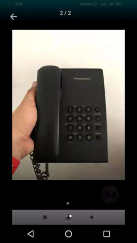 Dos  Teléfonos Panasonic queda uno a 20.000 cada uno
