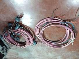 (6) Cables Subterráneo Alargues Dobles (20 Metros)