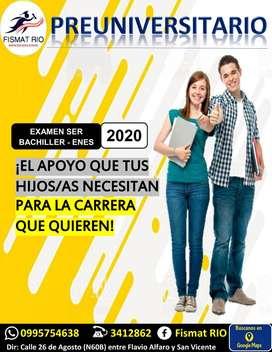 Libro de Preparación  para exámenes ENES - SER BACHILLER 2020