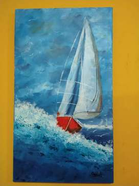 Cuadros artesanales , pintura sobre lienzo