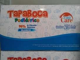 Tapabocas Pediatrico Caja X 25 Unidades