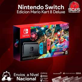 Nintendo Switch Edicion Mario Kart 8 Deluxe
