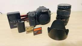 Canon 7D + Lente 35-80