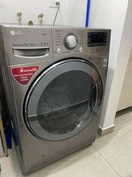 Lavadora y secadora LG inteligente