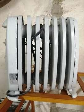 Calentador ambiente (aceite).