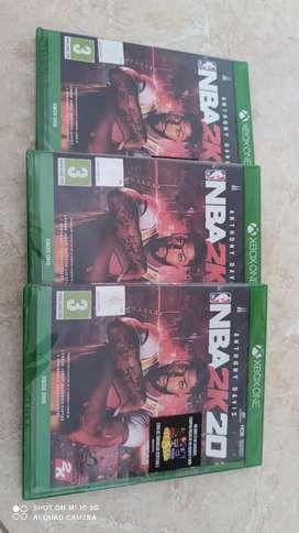 Nba 2k20 Xbox One Fisico, Nuevo Y Sellado