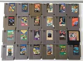 Juegos de Nintendo NES!! 100% Originales