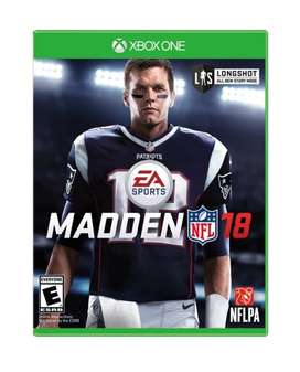 Juego Para Xbox One Madden NFL 18 Original Nuevo Físico