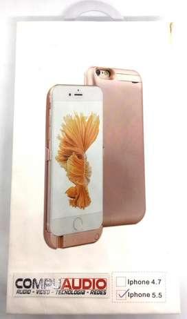 Banco de poder y estuche para iphone 6 - 6s PLUS 10.000MAh