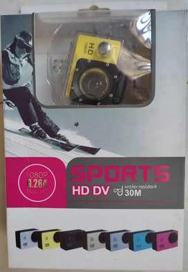 Sport camara a la venta , caja abierta, la cámara está nueva sin uso