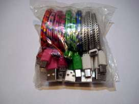 Lote 10 cables USB a micro usb...para Revender!