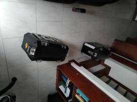 Maleteros Central Y Laterales Vstrom 650 Dl650a