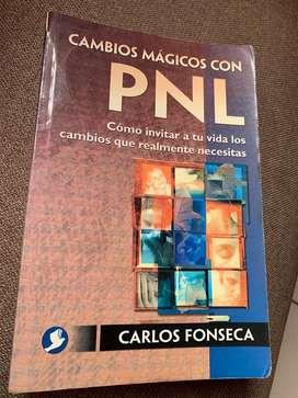 """Libro """"cambios mágicos con PNL"""". Usado"""