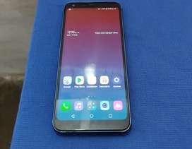 LG Q7 de 32 GB y 3 GB RAM, lector de huella, carga rápida