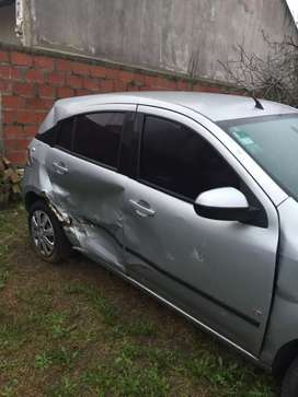 Vendo Chevrolet agile dado de baja con alta motor no vendo repuestos se vende entero muy buen auto