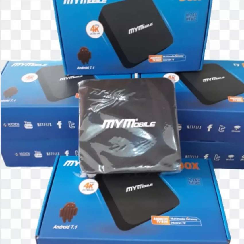 ANDROID TV BOX MYMOBILE 4K, CONVERTIDOR SMART