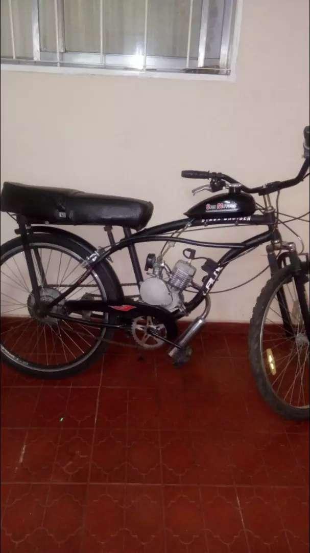 Vendo mi bicimoto.marca bici motors.48cc 0