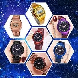 Relojes de hombre y mujer