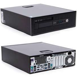 OFERTA TORRE WEBCAM HP INTEL CORE I5 RAM DE 8GB SSD 120GB CON OBSEQUIO