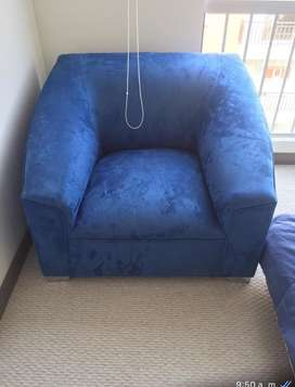Poltronas azules