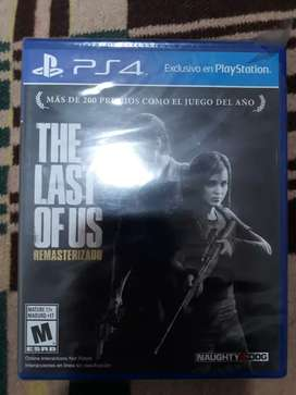 The last of us sellado ps4
