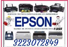 Servicio técnico de impresoras HP Epson canon Lexmark brother Samsung bixolon