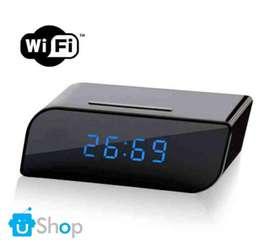 W30 Cámara Reloj Digital de Mesa Wifi Espía S.movim V.nocturna 1080p