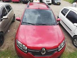 Vendo camioneta Renault Stepway, kilometrje 19000, único dueño, color rojo fuego, papeles al día, modelo 2018.