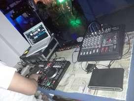 Sonido dj ambientación led