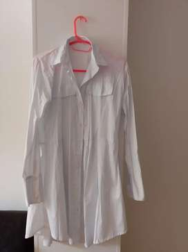 Vestido blanco nuevo sin etiqueta