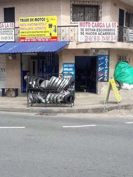 Vendo taller de motos muy bien acreditado al lado de CDA