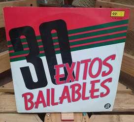 Discos Long Play Lps Acetatos Pastas Vinilos Vinyl 30 EXITOS BAILABLES