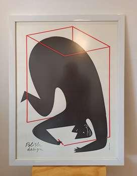 Cuadro ilustración - Diseño Polaco