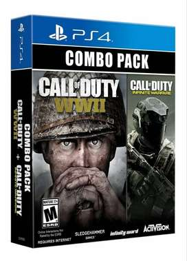 COMBO PACK - Call of Duty WWII + Call of Duty Infinite Warfare