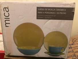 Vajilla MICA (nueva)