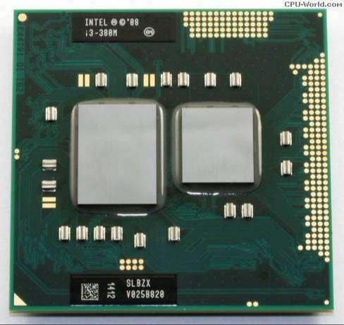 Procesador laptop Intel Core i3 380M 2,53 GHz Zócalo PGA988 0