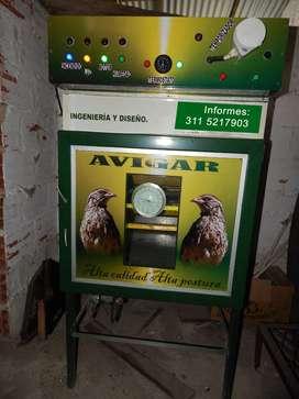 Maquina incubadora de Huevos