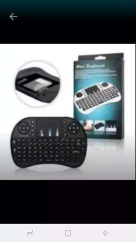 Mini teclado inalambrico tv Box,Smart tv,laptop